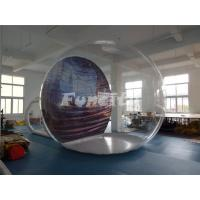 Quality Inflatable Christmas Advertising Inflatable Bubble Tent 1.0mm PVC And 0.9mm PVC Tarpaulin wholesale