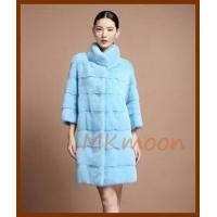 mink fur coat  -MKZ220#