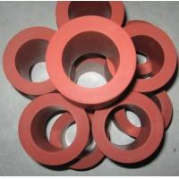 260C 235mm Length Heat Transfer Machine Red Silicone Rubber Roller