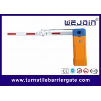 Quality Access Control Car Park Auto Barrier Gate System With 180 Degree Fording Arm wholesale