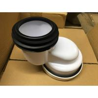 PP Material Toilet 100mm Offset Pan Connector , Toilet Pipe Fittings Without Burrs