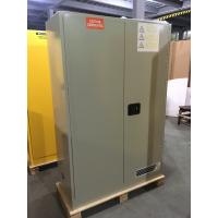 Buy cheap Steel Chemical Storage Cupboards 3 Point Lock For Hazardous Poison Pesticide from wholesalers