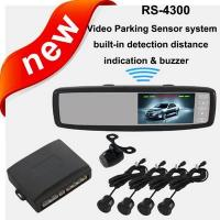Best Universal Video Parking Sensor system,4.3 inch Rearview Monitor wholesale