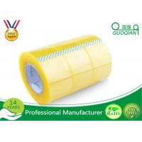 Quality Pressure Sensitive BOPP Packing Tape Strong Adhesive Single Sided Clear Shipping Tape wholesale