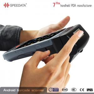 Buy cheap Quad Core 1.3 Ghz Handheld Fingerprint Scanner , Biometric Fingerprint System from wholesalers