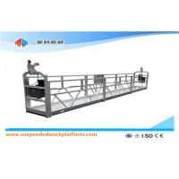 Quality Moveable Safety Rope Suspended Platform ZLP500 With Rated Capacity 500KG wholesale