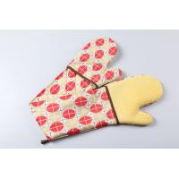 silicone double oven mitts