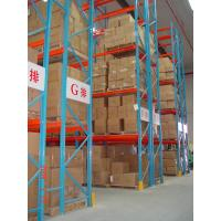 Quality Heavy Duty Pallet Warehouse Racking / Metal Storage Shelves wholesale