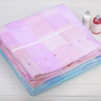 pink stock summer host selling towels