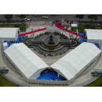 1000 People Large Outdoor Canopy Tent , White Party Tent With Anti UV PVC