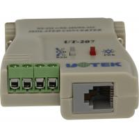 Quality UT-207 External-powered RS232 To RS485 Serial Converter , 2500Vrms wholesale