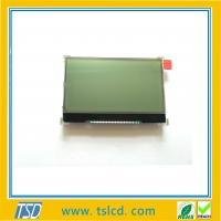 Hot sale graphic LCD 128*64 cog mode FSTN LCD display screen with YG color