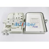 Best 1x16 PLC Splitter Fibre Optic Termination Box With SC UPC / APC Connectors wholesale