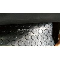 Coin pattern flooring extra wide rubber mats for garage floors / gasket