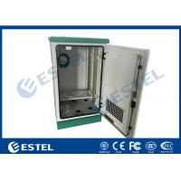 Quality Fan Type Outdoor Telecom Cabinet Waterproof Anti - Corrosion With Galvanized Steel Material wholesale