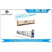 Best 10m Electrical Swing Stage Scaffold ZLP1000 Steel / Hot Galvanized / Aluminum Gondola Cradle wholesale