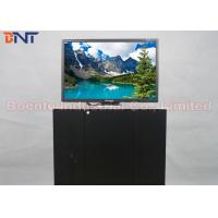 Quality 19 Inch Conference Room Tabletop LCD Monitor Screen / Desktop Computer Lifter wholesale