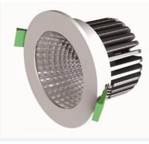 CRI85 720LM 10.5W Bridgelux COB LED Down Light With 45° Die-cast Aluminum Dimmable