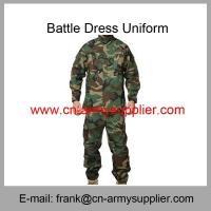 Wholesale Cheap China Military Woodland Camouflage Police Army Combat Uniform ACU