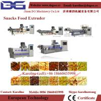 Quality automatic double screw twin screw snack food extruder machine processing line wholesale