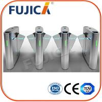 Buy cheap Biometrics Access Control Office Building Flap Barrier Turnstile from wholesalers
