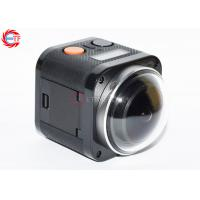 Quality E360h Cube Action Camera With 2.4 G Remore Controller , 360 VR Sport Camera 4k wholesale