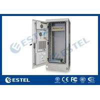 Quality Professional PDU IP55 Outdoor Telecom Cabinet Grey Color 1800X900X900 mm wholesale