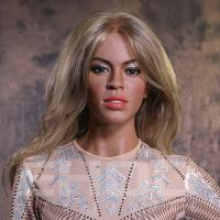 Best Realistic Famous Hollywood Singer Wax Figure / Celebrity Waxworks For Celebrity Museum wholesale