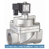 Pilot Operated NC Solenoid Valve High Pressure  , 15mm Solenoid Valve SS304