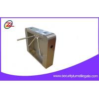 Best Stainless Steel Access Tripod Turnstile Gate / turnstile security systems For Attendance wholesale