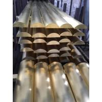 Best Brass Arc Rod Radial Extruded Brass Bar / Curved Copper Rod Manufacturer wholesale