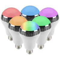 Multicolored Bluetooth Music Light Bulb Clear And Big Sound Energy Efficient