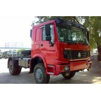 Quality HOWO 4x4 Manual Prime Mover Truck All Wheel Drive With 7100kg Payload , Off Road Model wholesale