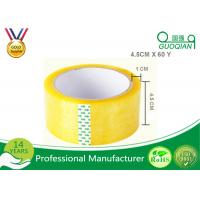 45 Micron Clear Bopp Packing Tape , Carton Sealing Packaging Tape 55 Yard