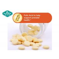 B9 Vitamin B Supplements Folic Acid 400mcg Tablets For Prenatal Support
