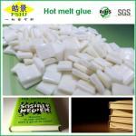 Quality EVA Milk White Hot Melt Pellets Quick Drying Hot Melt Glue For Bookbinding Application wholesale