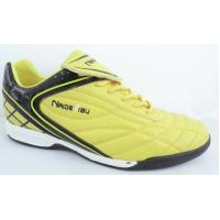 Quality Yellow / Black Childrens Soccer Shoes Customized for Firm-Ground wholesale