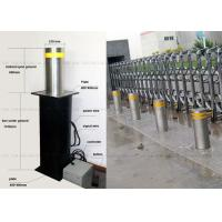 Best Anti - Terrorist Automatic Retractable Bollards Removable Reflective Flexible wholesale
