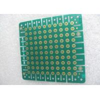 1.6mm ENIG Immersion Gold Green Solder Mask Double Sided PCB RoHs and UL