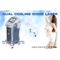 Quality Triple Wavelenghts Diode Laser Hair Removal Machine / Alexandrite 755nm Diode Laser wholesale