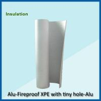 Quality fire proof xpe heat insulation with woven wholesale