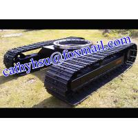 Best cutom built 1-100 ton steel track undercarriage with slew bearing (crawler undercarriage with slew bearing) wholesale
