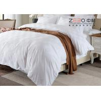 Quality Customized Color Hotel Bedding Collection Sets Satin Square Design wholesale