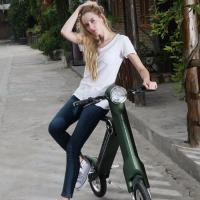 Best Cool Fast Folding Foldable Electric Scooter Keyless System For Office Worker wholesale
