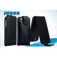 Quality Vertical Flip iPhone5 Mini Cell Phone Leather Cases PU Cover with Plain Weave wholesale