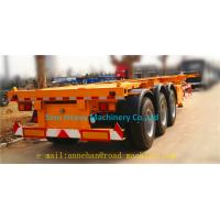 Quality 3 AXLES/60T TRACTOR SKELETON TRAILER wholesale