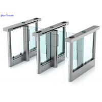 Quality Full Automatic Supermarket Swing Gate High Security Waterproof Intelligent Turnstiles wholesale