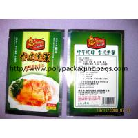 Cheap Compound Aluminium Foil Bag Stand Up Pouches For Pickles / Instant Food for sale