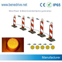 Dia. 200mm Solar LED Sequenced Flashing Lights Synchronized Guidance System