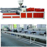 Quality Electricity Twin Screw Extruder Granulation Pelletizing System PP PE Conveyor Belt Machine wholesale